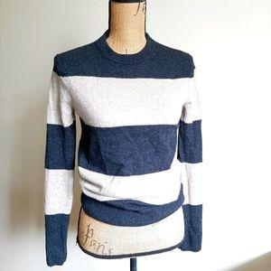Aritzia T. Babaton rugby stripe sweater